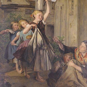 Charity-Ferdinand Georg Waldmüller by LexBauer