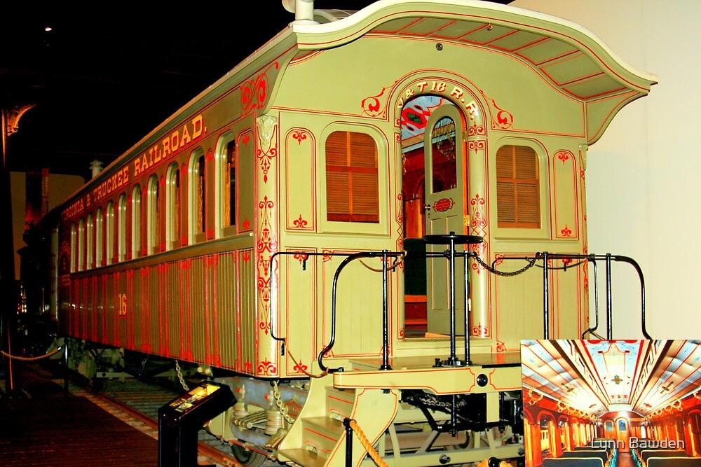 """""""Virginia and Truckee Railroad Car #16"""" by Lynn Bawden"""