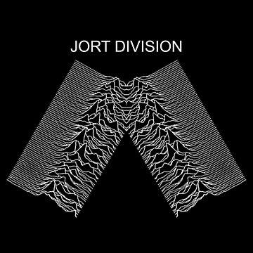 jort division (joy division unknown pleasures parody) by JoeDaEskimo