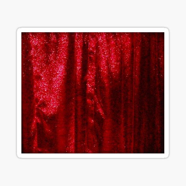 Ruffled Curtains  Sticker