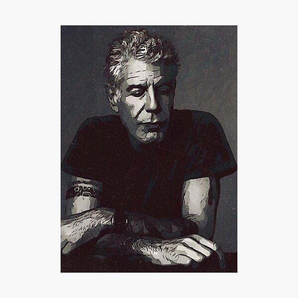 Anthony Bourdain Photographic Print