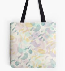 Dotted Blobs #redbubble #abstractart Tote Bag