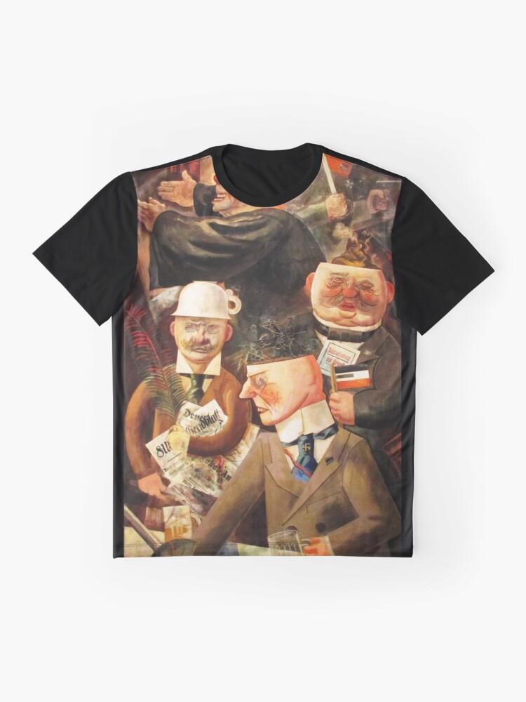 Alternative Ansicht von Säulen der Gesellschaft Grafik T-Shirt