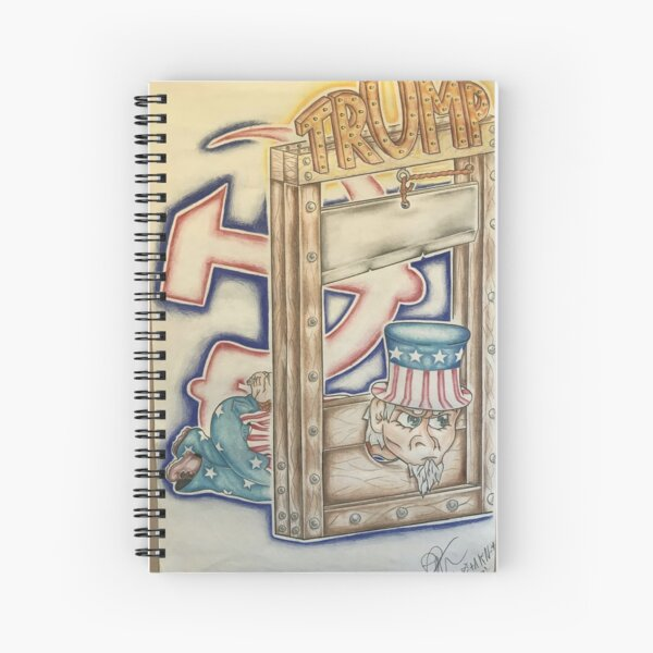 Duck Trump! Spiral Notebook