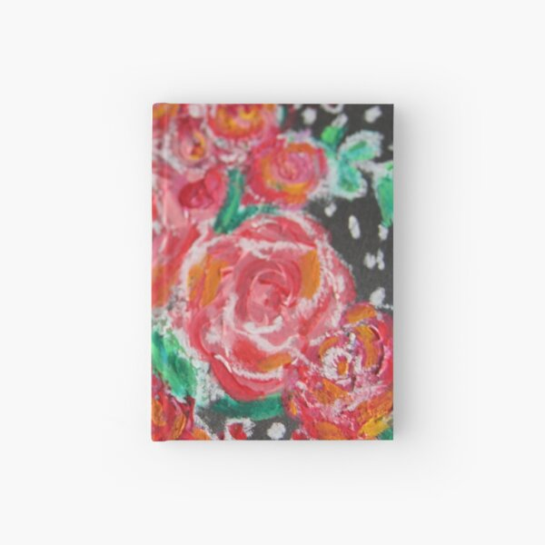 Roses for Christmas Hardcover Journal