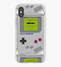 I'm a dreamer boy - GameBoy iPhone Case