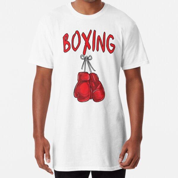 Box Championship T-shirt Training Balboa Punch Boxing Gloves Ali Funny Gift Mike