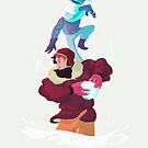 Snow fight by bresquilla