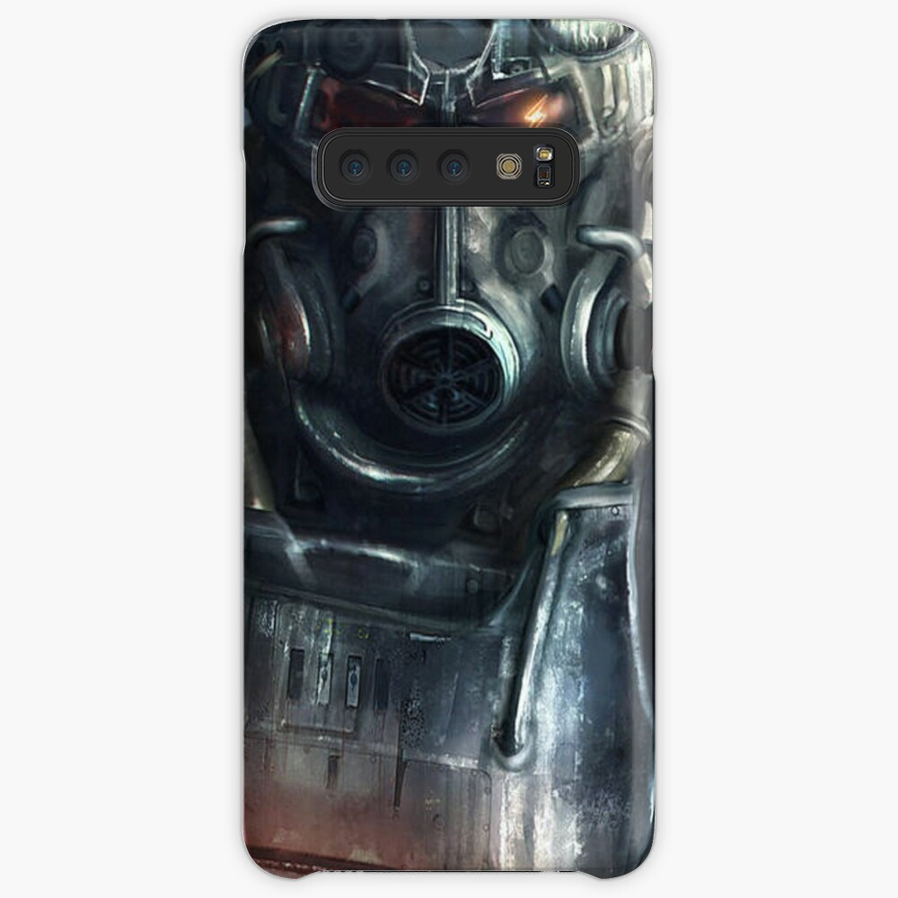 Fallout Wallpaper Soldier Case Skin For Samsung Galaxy By