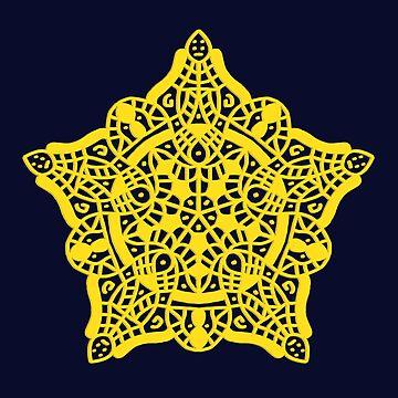 Mandala Lace Star by Karotene
