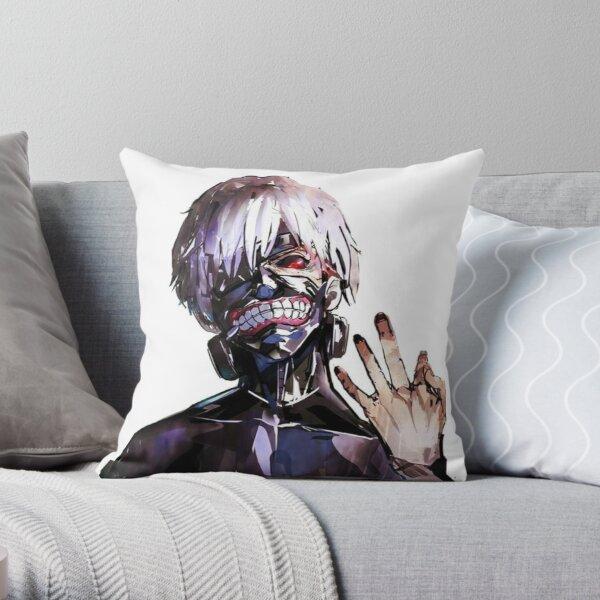 Kaneki Throw Pillow