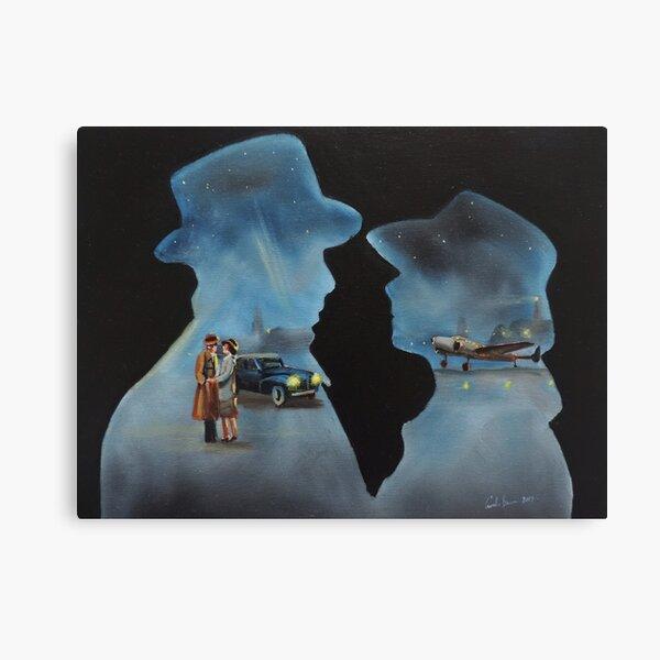 Casablanca oil painting Canvas Print