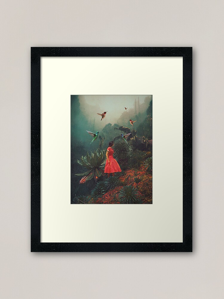 Alternate view of 20 Seconds before the Rain Framed Art Print