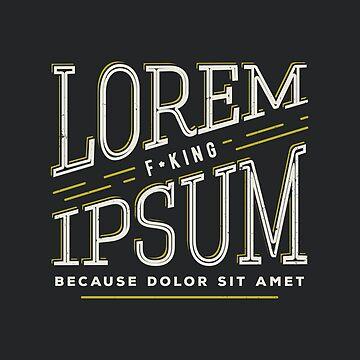 Lorem ipsum by bresquilla