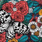 Paper kite garden by Katerina Kirilova