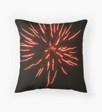 Happy New Year; Fireworks from the neighborhood Throw Pillow