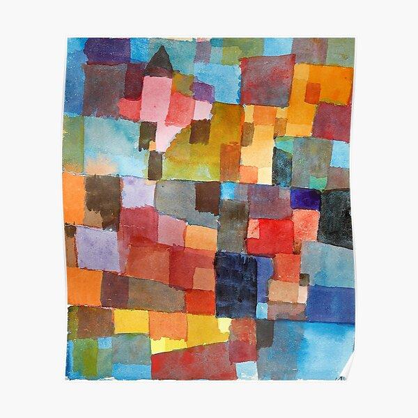 Raumarchitekturen, Paul Klee Poster