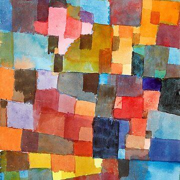 Raumarchitekturen, Paul Klee by fourretout
