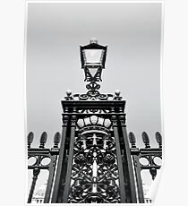 Greenwich Lamp Post  Poster