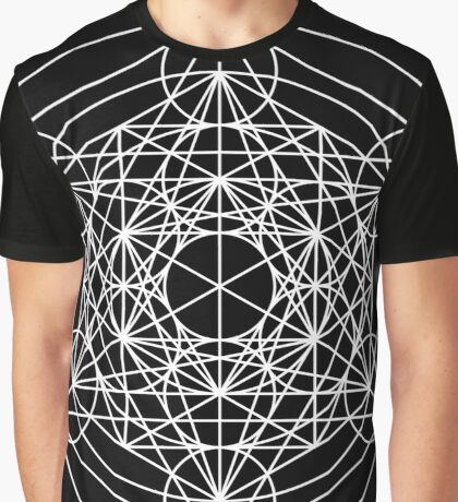 Metatron's Cube Expanded 001 Graphic T-Shirt