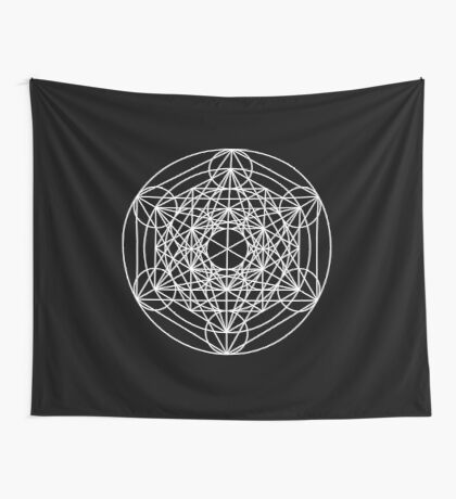Metatron's Cube Expanded 001 Wall Tapestry