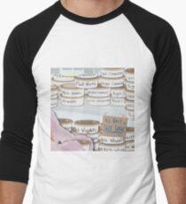 Fridge Full of Worms! Men's Baseball ¾ T-Shirt