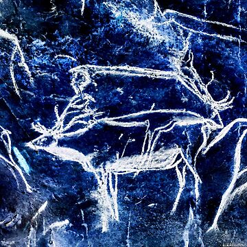 Chauvet Two Deer - Negative by WWestmoreland