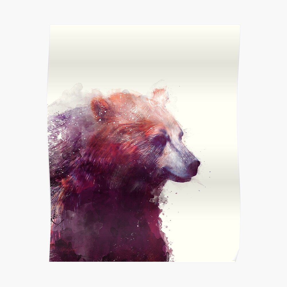 Bear // Calm Poster