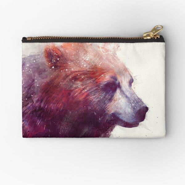 Bear // Calm Zipper Pouch