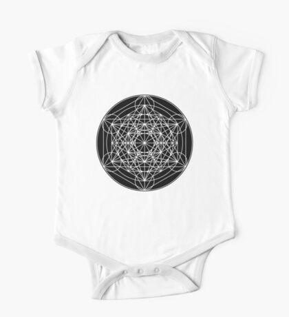 Metatron's Cube Expanded 002 Kids Clothes