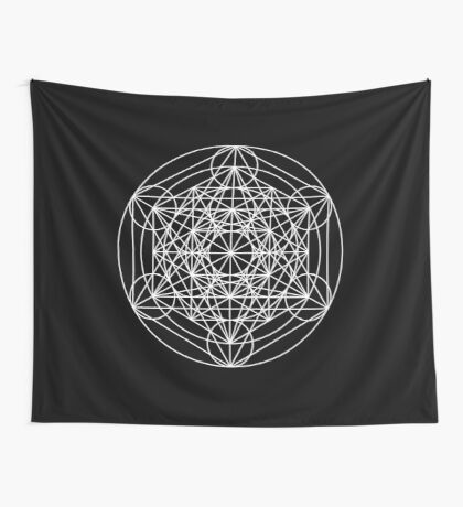 Metatron's Cube Expanded 002 Wall Tapestry