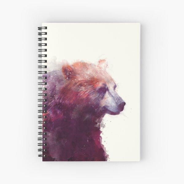 Bear // Calm Spiral Notebook