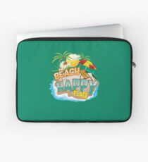 The Beach Is My Happy Place Art | Cool Nature Lover Gift Laptop Sleeve