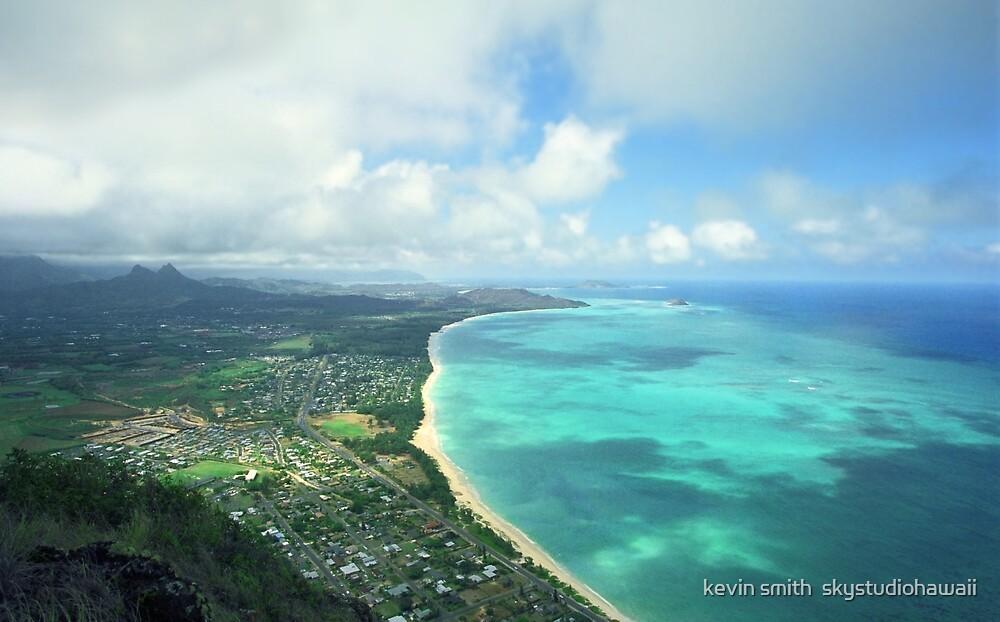 waimanalo bay, oahu, hawaii  by kevin smith  skystudiohawaii