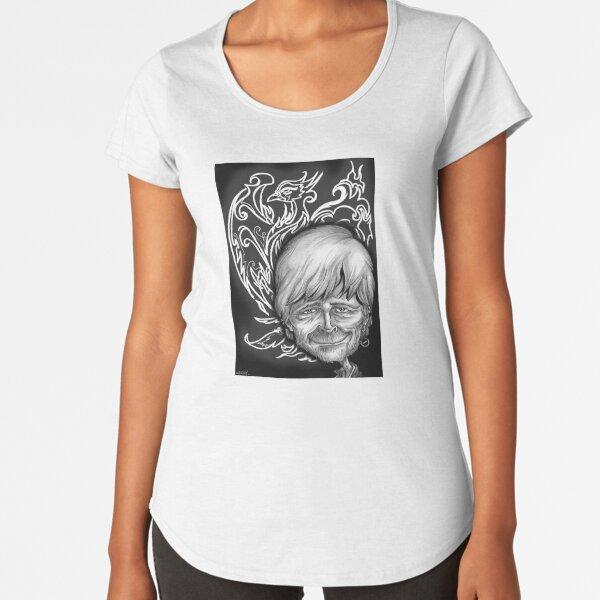 renaud phoenix caricature T-shirt premium échancré