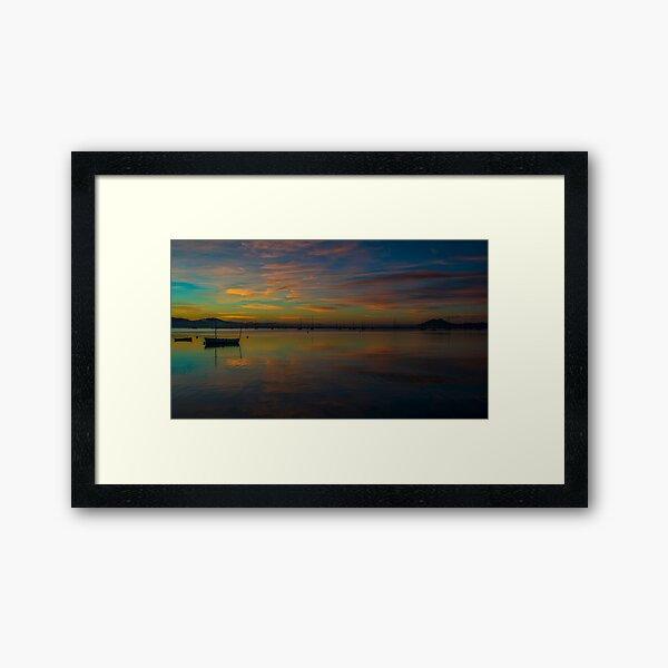 Before the Sun Framed Art Print