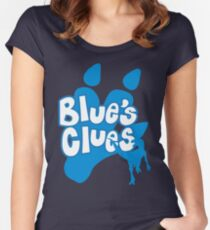 Blue's Clues Women's Fitted Scoop T-Shirt