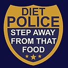 Diet Police Badge by viCdesign