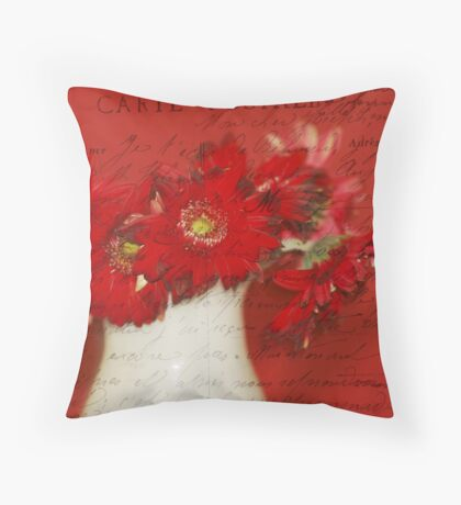 The Post Card Throw Pillow