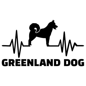 Heartbeat Greenland Dog by Designzz