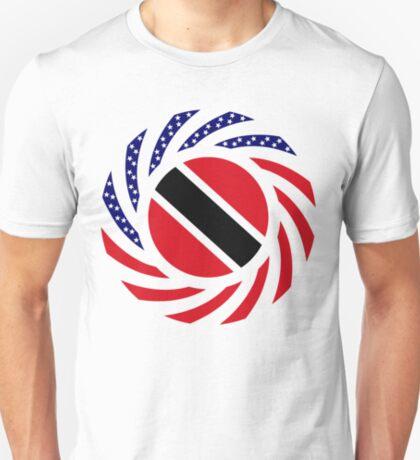 Trinidadian American Multinational Patriot Flag Series T-Shirt