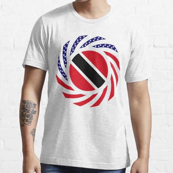 Trinidadian American Multinational Patriot Flag Series Essential T-Shirt