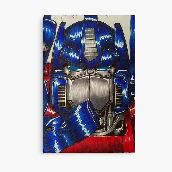 G1 Optimus  Canvas Print