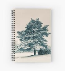 Pine in the Snow Spiral Notebook