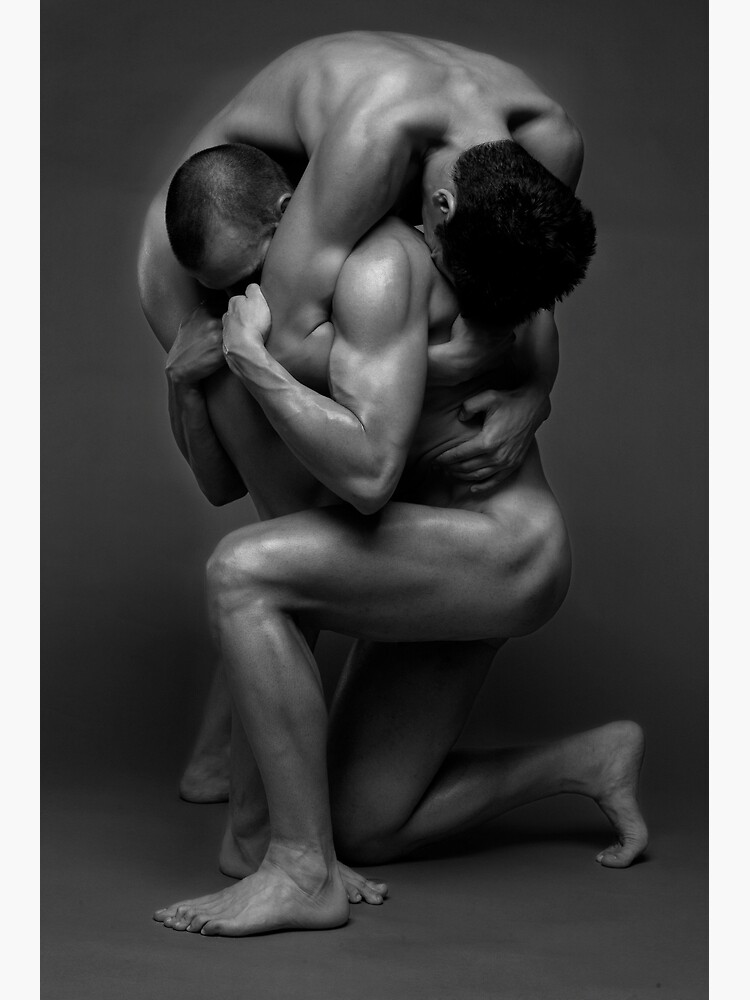 Two muscled men fine art by MaleVision