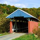 Covered bridge in Hopewell Township, Perry County, Ohio by Chad Wilkins