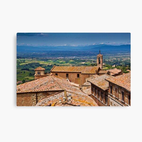 Montepulciano, Tuscany Canvas Print