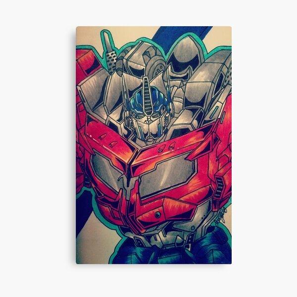 TFP Beast Hunters Optimus Prime Canvas Print