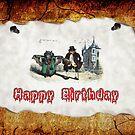 Happy Birthday by GothCardz
