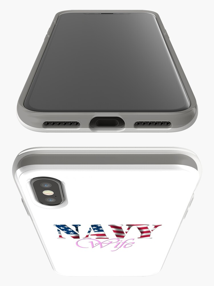 Alternate view of NAVY WIFE iPhone Cases & Covers